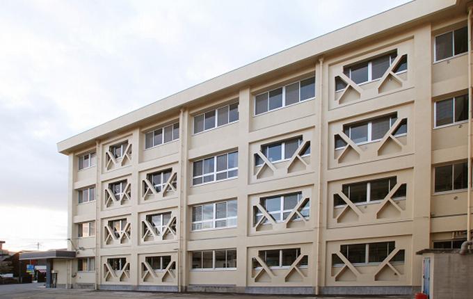 広島県立三原高等学校校舎(1号棟) 耐震工事
