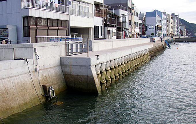 尾道糸崎港港湾海岸保全工事