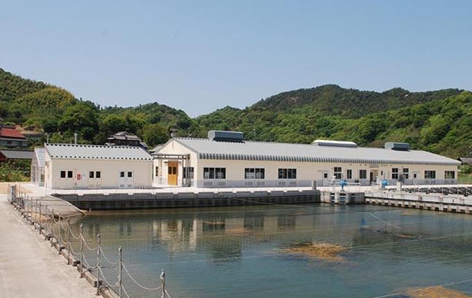 瀬戸内海区水産研究所百島実験施設二枚貝類飼育実験棟
